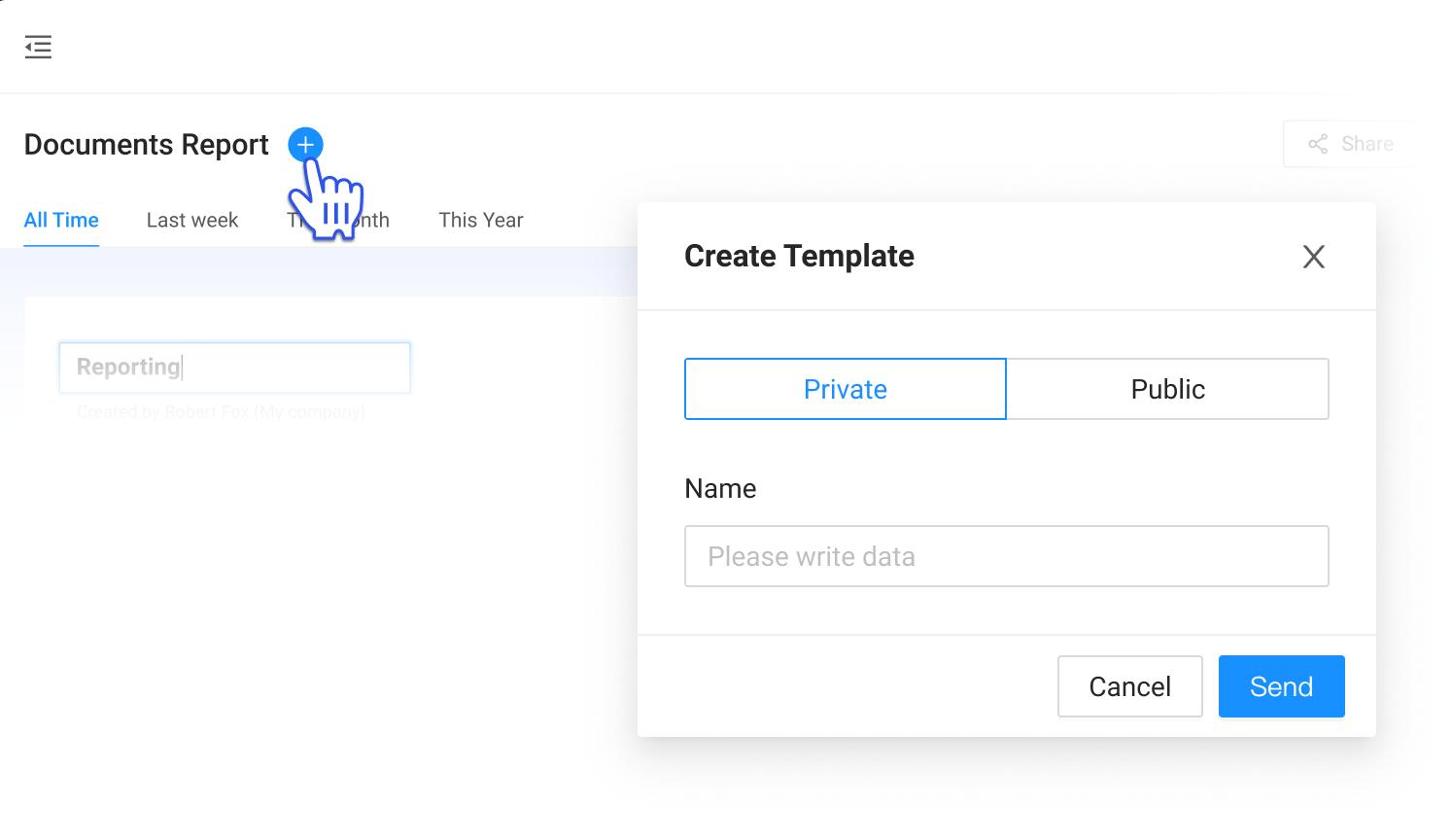 Create Report Templates